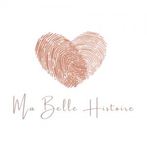 deux empreintes formant un coeur - logo Ma Belle Histoire - Wedding Planner Blois - Cérémonie laique Blois - Mariage 41 Loir-et-cher